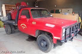 100 Brush Fire Truck 1987 Chevrolet Brush Fire Truck Item DG2908 SOLD Januar