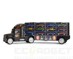 100 Toy Truck And Trailer BigDaddy Tractor Car Collection Case Carrier Transport