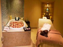 Facial Bed Decor Ideas Spa Room With Culture Design Home Interior