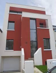 maison moderne de ville moderne façade par archi0nline