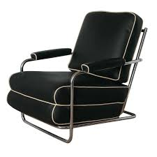 Gilbert Rohde Streamline Art Deco Lounge Chair For Troy ...