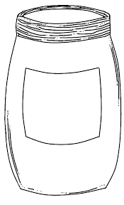 Empty Jar Coloring Pages