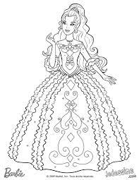 Un Beau Coloriage Du Cheval De Barbie à Colorier À Imprimer