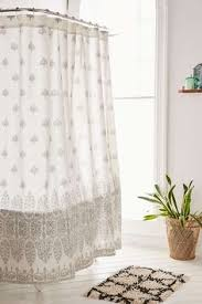 Plum And Bow Pom Pom Curtains by 15 Shower Curtains Perfect For A Grown Up Bathroom Striped Linen