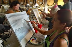 Sip And Paint Part Of Riggers Loft's Events Medley | Richmond Standard