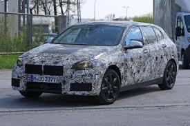 New 2018 BMW 1 Series First spy shots of next gen BMW hatch