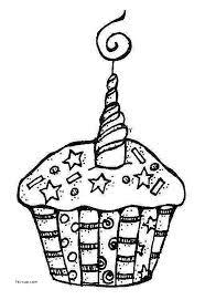 Birthday Cake Clipart Black And White Fresh Birthday Cup Cake Clip Art Black And White Clipartsgram