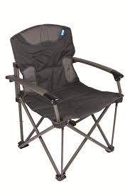 Kampa Stark 180 Heavy Duty Camping Chair (Twin Pack)