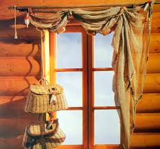 Google Image Result For Rustic Lodge Lifestyle Files Window Treatment With Fishnet