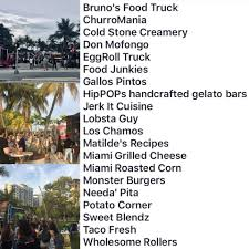 Miami Food Trucks - Home | Facebook Dade Corners Market Place Truck Stop Party Youtube Miami Ambulance Fire Truck Collision Five New Summer Brunches In To Try This Weekend Indiana Jack And The Stop Express Naked Woman Stops Traffic After Jumping On Car Hialeah Police Near Me Trucker Path Miamidade Libraries Twitter Were At Springintowellness Florida Fl Metrobus Public Transportation Bus Pilot Flying J Travel Centers Introducing The 595 For Saturdays Family