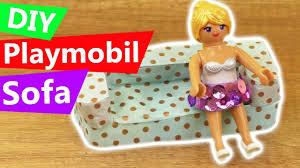 playmobil diy sofa selber machen wohnzimmer einrichtung für playmobil diy