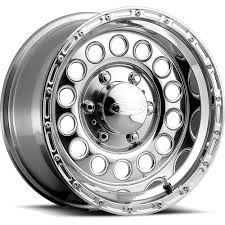 Amazon.com: Raceline Rockcrusher 16 Polished Wheel / Rim 8x6.5 With ...