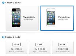 iPhone 5 now available in Apple Store Malaysia – BorneoPost line