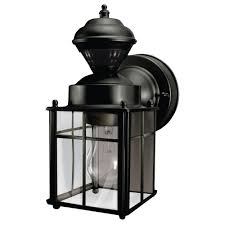 black outdoor wall mounted lighting the craftsman style