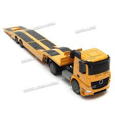 100 Remote Control Semi Truck With Trailer RC Flatbed Kids Electronics Hobby