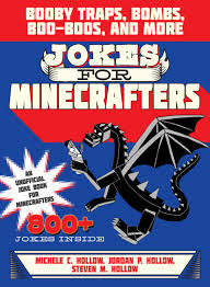 Halloween Jokes For Adults by Jokes For Minecrafters Booby Traps Bombs Boo Boos And More