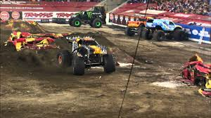100 Monster Truck Jam 2013 MaxD Freestyle From Tampa FL Feb 2