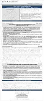 Sample Résumé: Sales & Marketing | Nonprofit Resume Writers