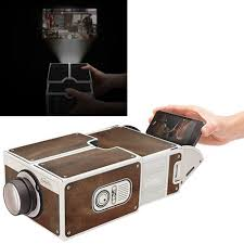 Cardboard Smartphone Projector 2 0 DIY Mobile Phone Projector