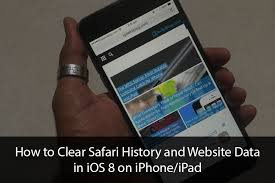How to Clear Safari History And Website Data in iOS 9 or iOS 8