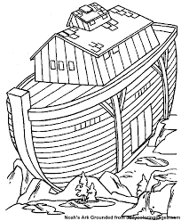 Noahs Ark Coloring Page 06