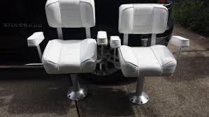 Fishing Boat Captain Chairs Best Chair Decoration How To Add More Seats Your Fishing Boat Sport Magazine Cheap Yachts For Sale 10 Used Motoryachts Under 150k 15 Top Ptoon Deck Boats For 2018 Powerboatingcom 21 Best Beach Chairs 2019 Making New Marine Vinyl 6 Steps With Pictures Shoxs 5605 Compact Jockeystyle Boat Suspension Seat Swing Back Leaning Post Seawork Shockwave Princecraft Gateway Power Sports 7052954283new Or Secohand Buyers Guide Four Of The Best Used British Yachts