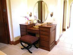 Waterfall Vanity Dresser Set by Vintage Dressing Table With Round Mirror U2013 Vinofestdc Com