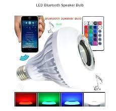 bluetooth ls led light bulb speaker wireless rechargeable