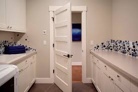 laundry room laundry room transitional with shaker door frame and