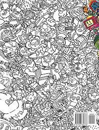 Amazon Doodle Chaos Zifflins Coloring Book Volume 3 9781523834778 Zifflin Irvin Ranada Books