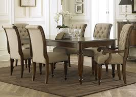 5 Piece Formal Dining Room Sets by Cotswold Cinnamon Rectangular Leg Dining Room Set From Liberty