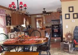 Interior White And Black Tile Backsplash Fireclay Apron Sink Dark Cherry Cabinet Primitive Kitchen Colors