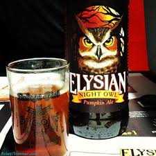 Elysian Night Owl Pumpkin Ale by Alaska Beer Reviews Archives Kristi Trimmer