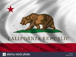 California Flag Banner Icon Of Silk