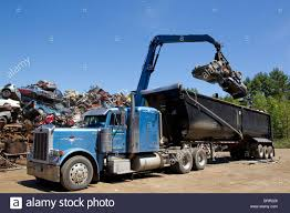 Crane Loading Semi Truck With Crushed Cars, Scrap Metal ... Roll Tarp For Dump Truck Together With Glider Kits And Ford Bed Or Abandoned Trucks In Woods America Pickup Usa Inspirational Ford Trucks Junk Yards 7th Pattison Mack Tow Yard Dog Youtube Kenworthtruckredjpg Semitrucks Pinterest Kenworth D247jpg Elegant Semi Chicago Sale Pictures Nissan Unique Diesel Salvage California