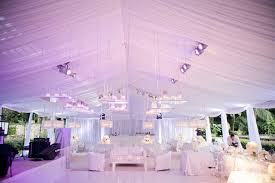 Outdoor Tented Wedding Reception