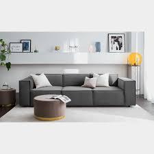 sofa kinx ii grau samt