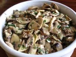 cuisiner cepes frais recette de salade de chignons de la recette facile