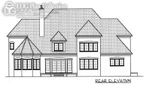 Gothic House Plans Two Story With Master On Second Floor