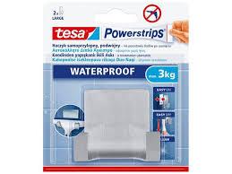 tesa powerstrips selbstklebender badezimmerhaken