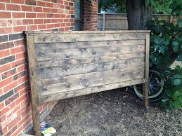 Ana White Headboard Diy by Awesome Rustic King Headboard Ana White Rustic Reclaimed Look King