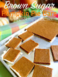 Desserts With Pumpkin Pie Filling by Cooking With K Brown Sugar Pumpkin Pie Bars