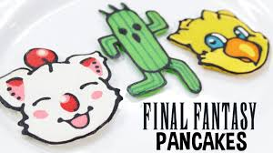 Nerdy Nummies Halloween Challenges by Final Fantasy Pancakes Nerdy Nummies Youtube