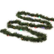 Philips 18 Christmas Prelit Multicolored LED Artificial Garland