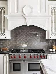 chevron subway tile cooktop search kitchen ideas