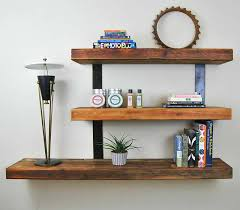 Furniture Saving Small Spaces Living Room Desgin With DIY Wood Floating Wall Shelf Using Reclaimed For Bookshelf And Display Storage Ideas