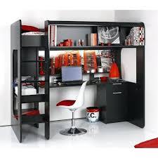 lit mezzanine 1 place avec bureau lit mezzanine 1 place bois blanc changelab me