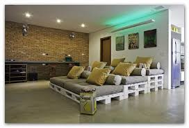 liegewiese paletten lounge innenarchitektur zuhause diy
