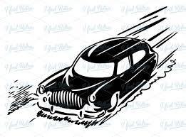 Fast Car Clipart Black And White clipartsgram