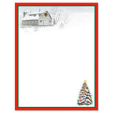 Winter Barn Christmas Letter Papers Current Catalog